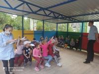 Беседа со старшими детьми по профилактике безопасности дорожного движения