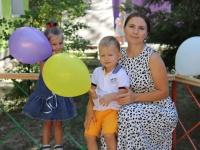 Приход детей 1 сентября в любимый садик